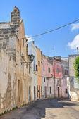 Alleyway. Nardò. Puglia. Italy. — Стоковое фото
