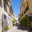 Alleyway. Galatina. Puglia. Italy. - Stock Photo