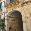 Historical palace. Galatina. Puglia. Italy. - Stock Photo