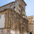 Church of St. Domenico. Nardò. Puglia. Italy. - Stock Photo