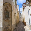 Alleyway. Nard. Puglia. Italy. - Stok fotoraf