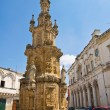Stock Photo: Virgin column. Nardò. Puglia. Italy.