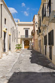 Alleyway. Nardò. Puglia. Italy. — Stock Photo