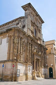 Church of St. Domenico. Nardò. Puglia. Italy. — Stock Photo