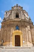 Church of St. Giuseppe. Nardò. Puglia. Italy. — Stock Photo