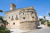 Acquaviva castle. Nardò. Puglia. Italy. — Stock Photo