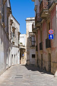 Alleyway. Galatina. Puglia. Italy. — Stock Photo