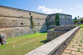 Slottet av copertino. Puglia. Italien. — Stockfoto