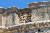 Acquaviva castle. Nardò. Puglia. Italy. — Foto de Stock