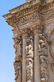 Church of St. Domenico. Nardò. Puglia. Italy. — Stock Photo