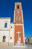 Church of Dominicans. Copertino. Puglia. Italy. — Stock Photo