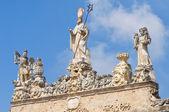 Sedile palace. Nardò. Puglia. Italy. — Stock Photo