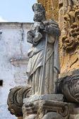 Virgin column. Nardò. Puglia. Italy. — Stock Photo