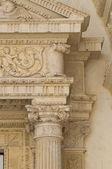 церковь carmine. нардо. апулия. италия. — Стоковое фото