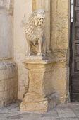 Church of Carmine. Nardò. Puglia. Italy. — Stockfoto