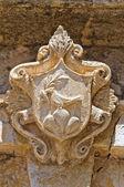 Historical palace. Nardò. Puglia. Italy. — Stock Photo