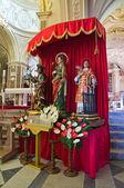 Cathedral of St. Nicola. Sant'Agata di Puglia. Puglia. Italy. — Stock Photo