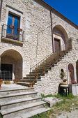 Castle of Sant'Agata di Puglia. Puglia. Italy. — Stockfoto