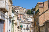 Panoramic view of Sant'Agata di Puglia. Puglia. Italy. — Stock Photo