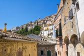 Panoramic view of Sant'Agata di Puglia. Puglia. Italy. — Stok fotoğraf
