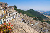 Panoramic view of Sant'Agata di Puglia. Puglia. Italy. — Stock Photo