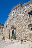 Cathedral of St. Nicola. Sant'Agata di Puglia. Puglia. Italy. — Stockfoto