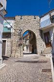 Porta Scarano. Deliceto. Puglia. Italy. — Stock Photo