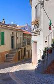 Alleyway. Deliceto. Puglia. Italy. — Stock Photo