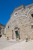 Cathedral of St. Nicola. Sant'Agata di Puglia. Puglia. Italy. — Stok fotoğraf