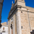 Basilica church of St. Basilio. Troia. Puglia. Italy. — Stock Photo
