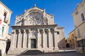 Cathedral of Troia. Puglia. Italy. — Foto de Stock