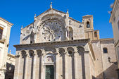 Cathedral of Troia. Puglia. Italy. — Stockfoto