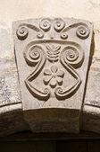 Historical palace. Sant'Agata di Puglia. Italy. — Stock Photo