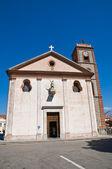 Church of St. Michele Arcangelo. Trecchina. Basilicata. Italy. — Foto de Stock