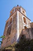 Mother Church of St. Maria Maggiore. Maratea. Basilicata. Italy. — Stock Photo