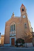 Church of St. Andrea in St. Anna. Troia. Puglia. Italy. — Stock Photo