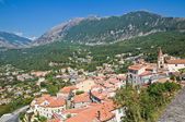 Panoramic view of Maratea. Basilicata. Italy. — Стоковое фото