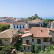 Panoramic view of Scalea. Calabria. Italy. — Stock Photo