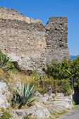 Castle of Scalea. Calabria. Italy. — Foto de Stock