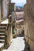Alleyway. Scalea. Calabria. Italy. — Stock Photo