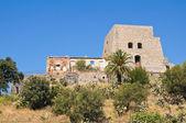 Talao tower. Scalea. Calabria. Italy. — Stock Photo