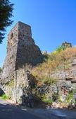 Castle of Scalea. Calabria. Italy. — Stock Photo