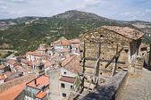 Valsinni 的全景视图。巴西利卡塔。意大利. — 图库照片