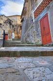 Alleyway. valsinni. basilicata. i̇talya. — Stok fotoğraf