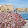 Royalty-Free Stock Photo: Panoramic view of Gallipoli. Puglia. Italy.