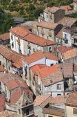 Vista panorámica de valsinni. basilicata. italia. — Foto de Stock