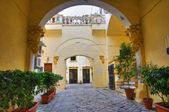 Balsamo palace. Gallipoli. Puglia. Italien. — Stockfoto