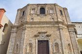 Церковь Святого Доминика. Галлиполи. Апулия. Италия. — Стоковое фото
