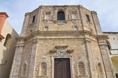 Church of St. Domenico. Gallipoli. Puglia. Italy. — Stock Photo