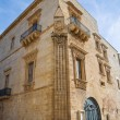 Marquis Palace. Galatone. Puglia. Italy. - Stock Photo
